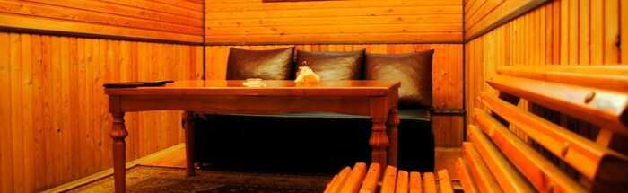 Золотая бухта — Семейная сауна